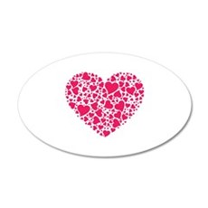 In Love With You 22x14 Oval Wall Peel