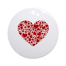 In Love With You Ornament (Round)