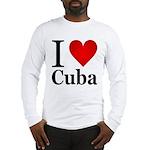 I Love Cuba Long Sleeve T-Shirt
