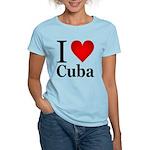I Love Cuba Women's Light T-Shirt