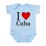 I Love Cuba Infant Bodysuit