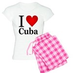 I Love Cuba Women's Light Pajamas