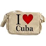 I Love Cuba Messenger Bag