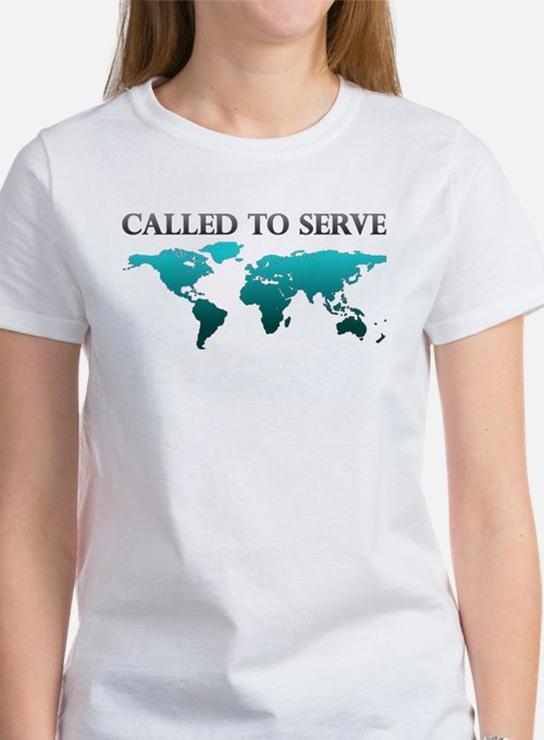 Called To Serve Teal Tee