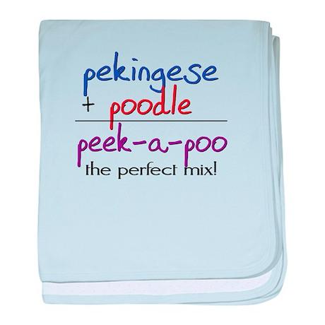 Peek-A-Poo PERFECT MIX baby blanket