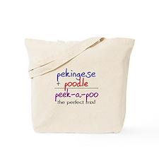 Peek-A-Poo PERFECT MIX Tote Bag