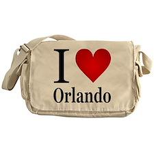 I Love Orlando Messenger Bag