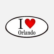 I Love Orlando Patches