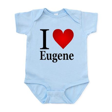 I Love Eugene Infant Bodysuit