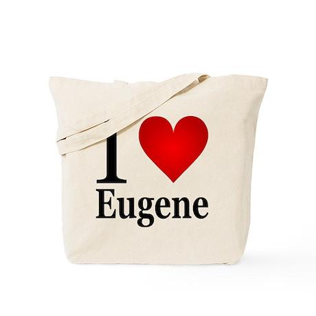 I Love Eugene Tote Bag