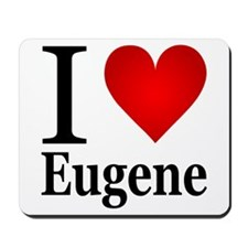 I Love Eugene Mousepad