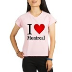 I Love Montreal Performance Dry T-Shirt