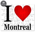 I Love Montreal Puzzle