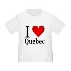 I Love Quebec T