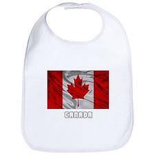 Flag of Canada Bib
