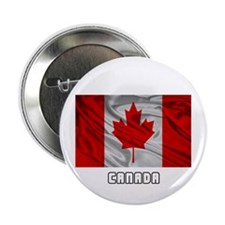 """Flag of Canada 2.25"""" Button (10 pack)"""