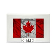Flag of Canada Rectangle Magnet (10 pack)