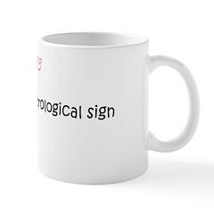 Mug: First day of astrological sign Leo