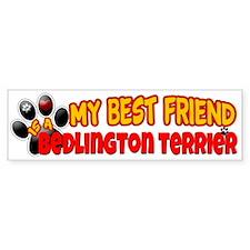 Bedlington Terrier Bumper Sticker