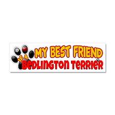 Bedlington Terrier Car Magnet 10 x 3