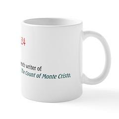 Mug: Alexandre Dumas pere, French writer of The Th