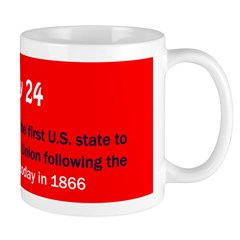 Mug: Tennessee became the first U.S. state to be r