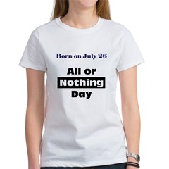 0726et_allornothingday T-Shirt