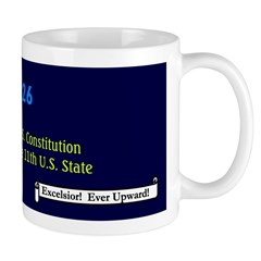 Mug: New York ratified the U.S. Constitution and w