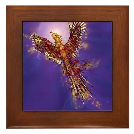 Phoenix Framed Tile