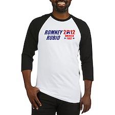 MITT ROMNEY MARK RUBIO 2012 P Baseball Jersey