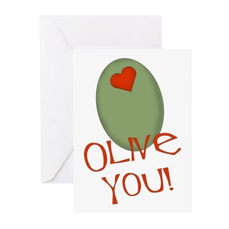 Olive You! Greeting Cards (Pk of 10)