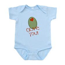 Olive You! Infant Bodysuit