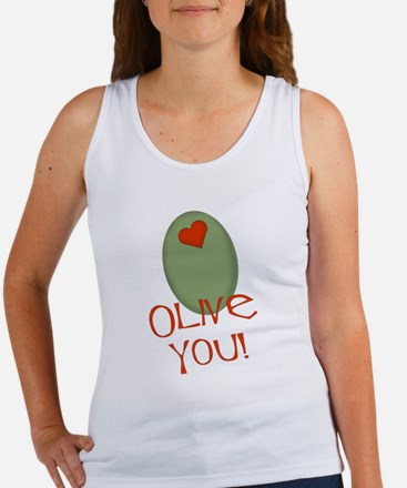 Olive You! Women's Tank Top