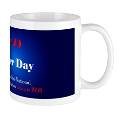 Mug: Final Frontier Day The U.S. Congress formally