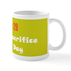 Mug: Cheese Sacrifice Purchase Day