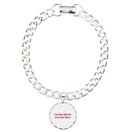 fun size Charm Bracelet, One Charm