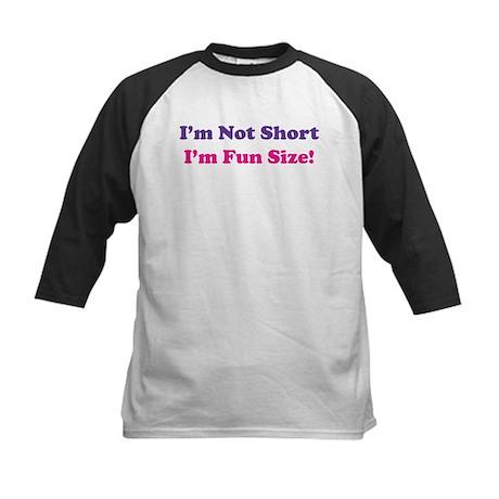 fun size Kids Baseball Jersey