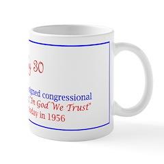Mug: President Eisenhower signed congressional res