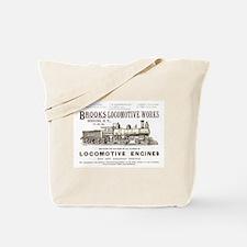 Brooks Locomotive Works Tote Bag