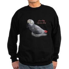 African Grey Parrot Gifts Sweatshirt