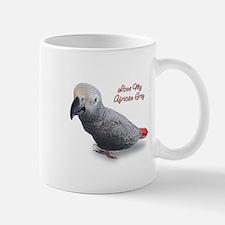 African Grey Parrot Gifts Mug