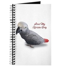 African Grey Parrot Gifts Journal