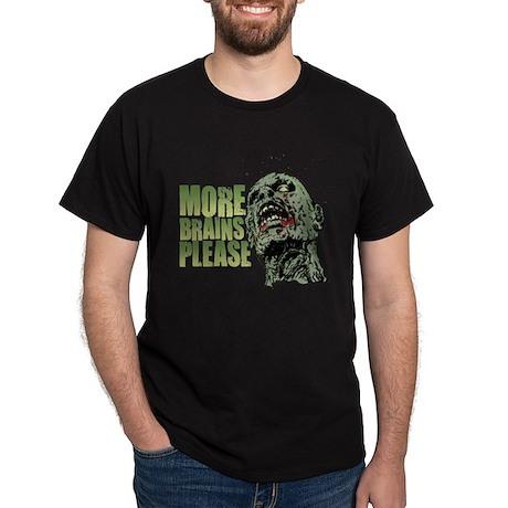 More Brains Please Dark T-Shirt