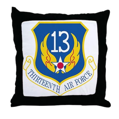 13th Air Force Throw Pillow
