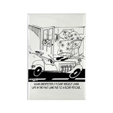 Life In The Fast Lane Rectangle Magnet