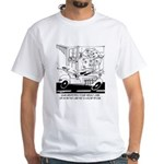 Life In The Fast Lane White T-Shirt