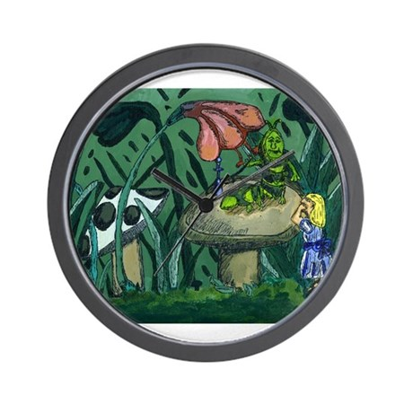 Alice In wonderland Painting Wall Clock