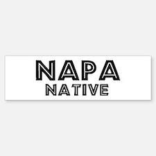 Napa Native Bumper Bumper Bumper Sticker