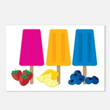 Popsicles Postcards (Package of 8)