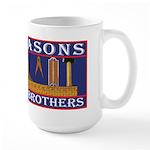 Freemasons. A Band of Brothers Large Mug